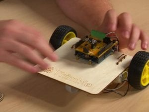 WiFi-enabled robot