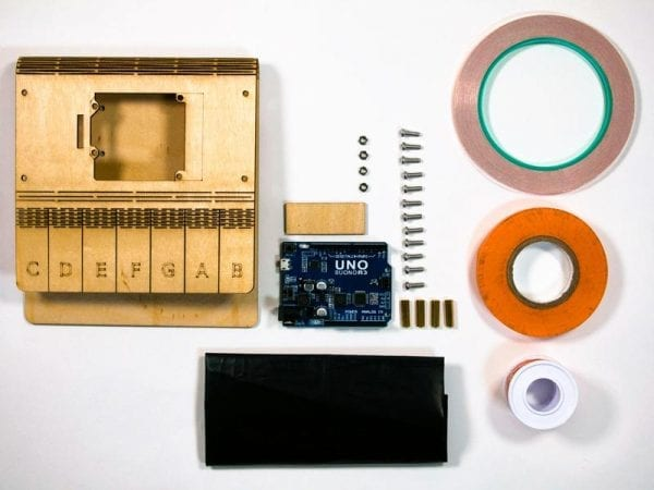 electronics parts for piano synthesizer
