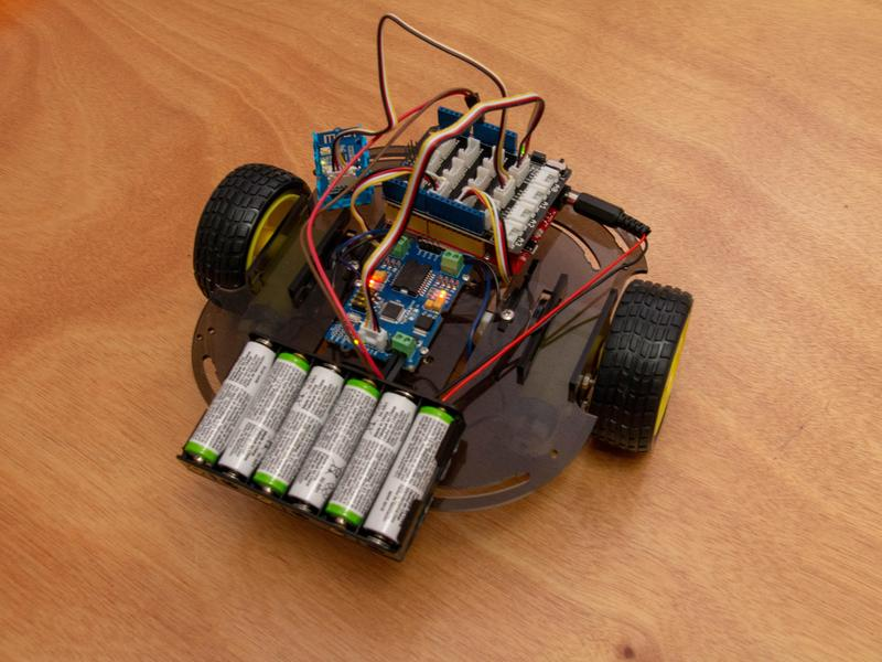 WiFi-controlled robot