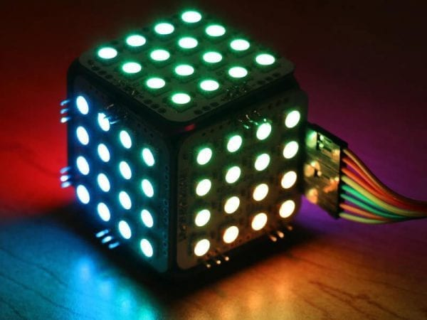 flashy LED cube